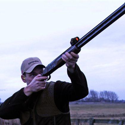 red dot تفنگ شکاری