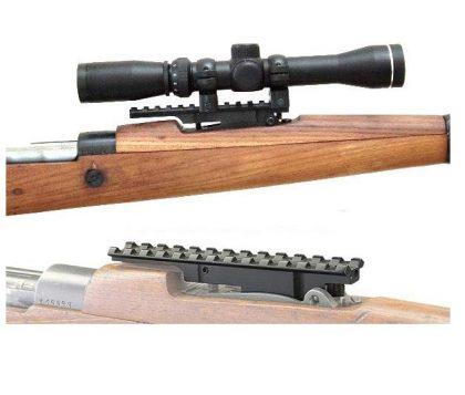 ریل نصب دوربین تفنگ برنو
