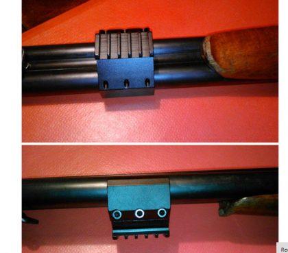 ریل دوربین تفنگ دو لول بغل