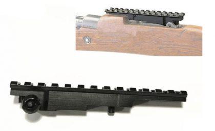 پایه نصب رد دات روی اسلحه برنو