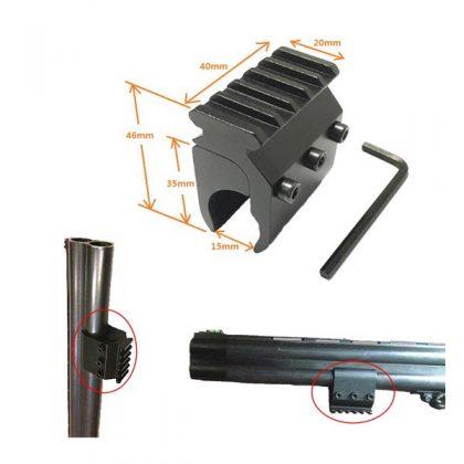 پایه چراغ اسلحه دو لول