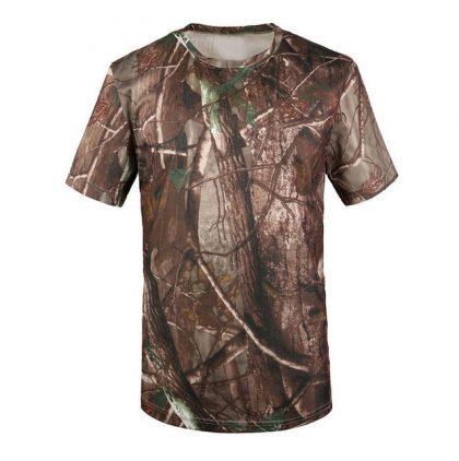 لباس شکار طرح استتار جنگلی